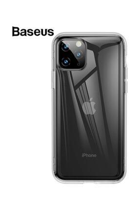Baseus Safety Airbags Iphone 11 Pro Max 2019 Şeffaf Darbe Emici Slikon Kılıf Şeffaf