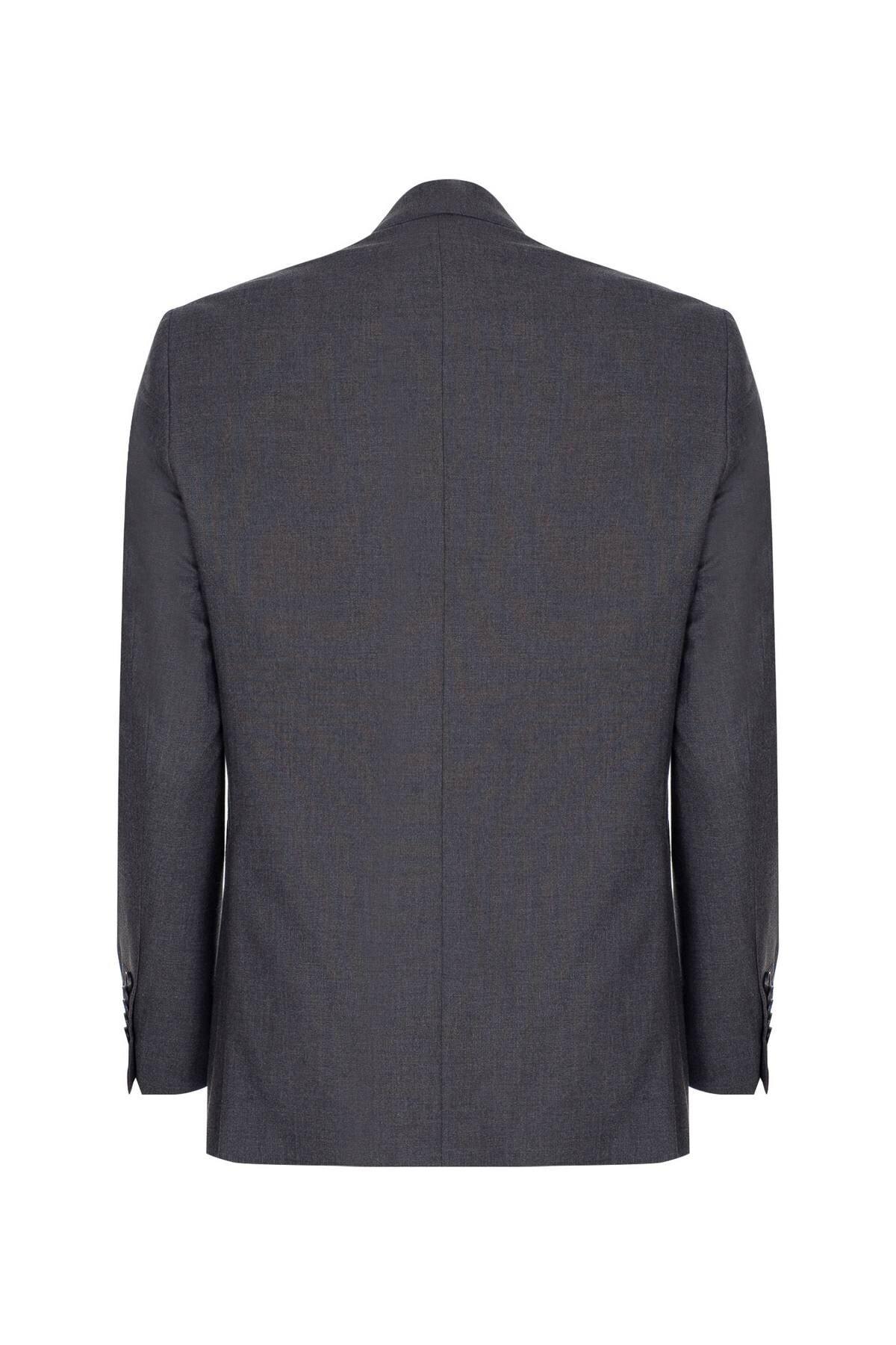 İgs Erkek Füme Regularfıt / Rahat Kalıp Std Takım Elbise 2