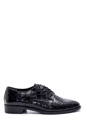 Derimod Kadın Deri Kroko Desenli Ayakkabı