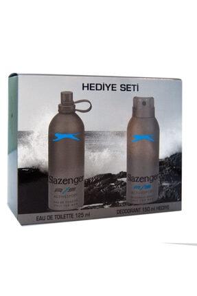 Slazenger Edt Active Sport 125 ml +Deo Mavi