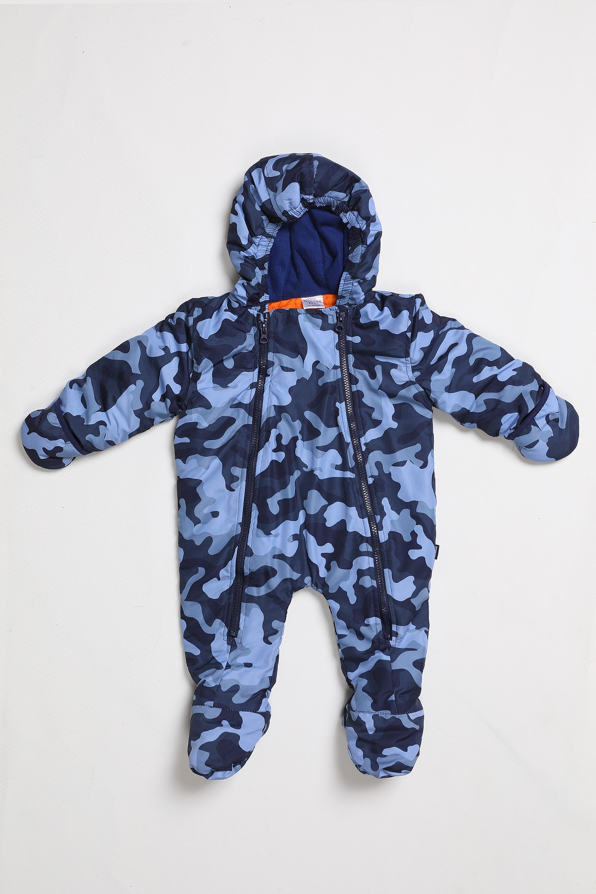 Wonder Kıds Erkek Bebek Mavi Astronot Tulum 2