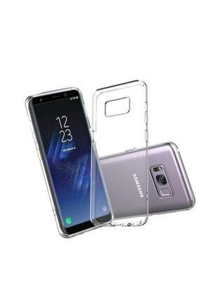 Penguen Samsung Galaxy S8 Plus Silikon Şeffaf Arka Kılıf