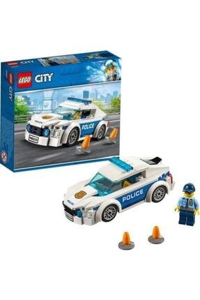 LEGO City Polis Devriye Arabası Beyaz 60239