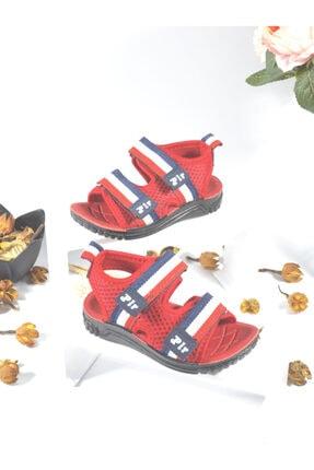 Polaris Erkek Çocuk Kırmızı Sandalet