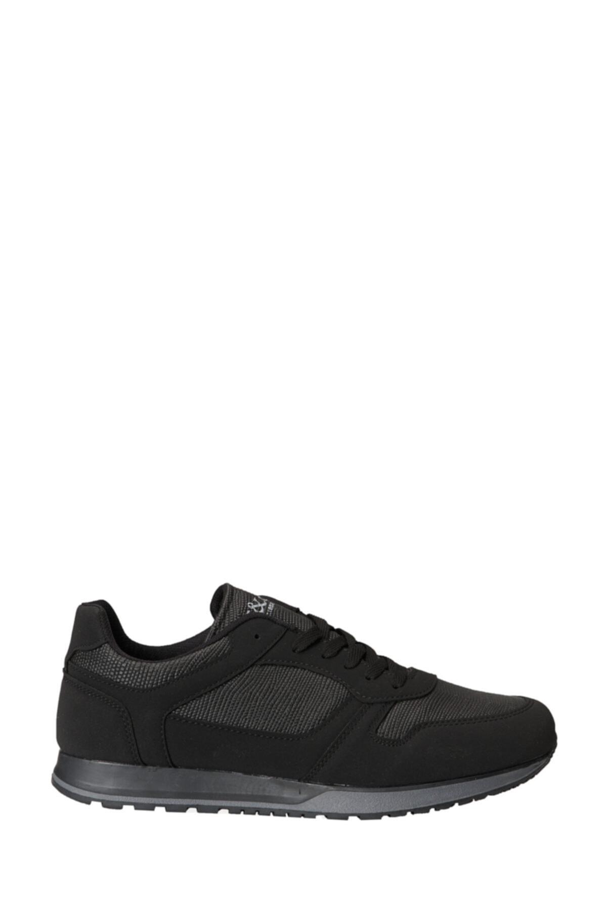 AC&Co / Altınyıldız Classics Erkek Siyah Casual Spor Sneaker Ayakkabı 2