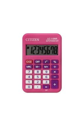 Citizen Hesap Makinası Cep Tipi Pembe Lc-110nrpk