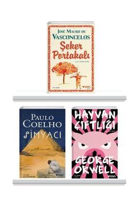 Can Yayınları Şeker Portakalı Hayvan Çiftliği Simyacı 3 Kitap Takım