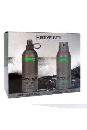 Slazenger Edt Active Sport 125 ml+deo Yeşil