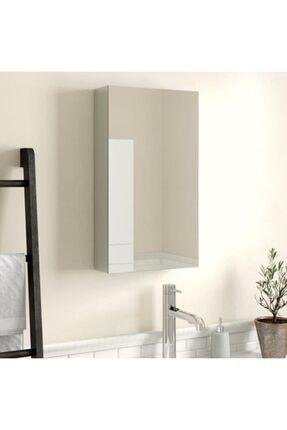 Taç-Dek Rivomo Tek Kapaklı Aynalı Banyo Dolabı Üst Modülü Beyaz