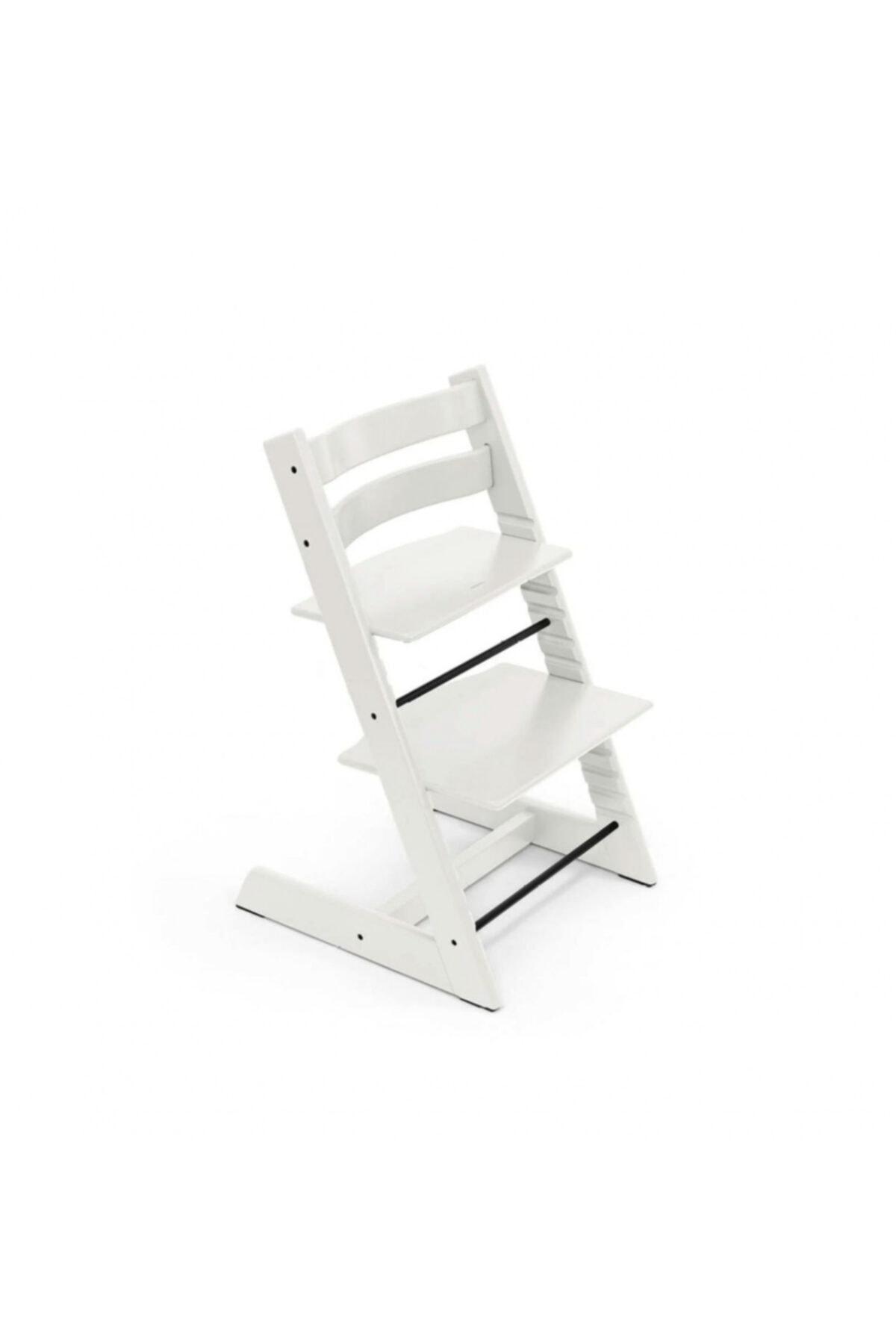 Stokke Tripp Trapp Ahşap Mama Sandalyesi Beyaz 1