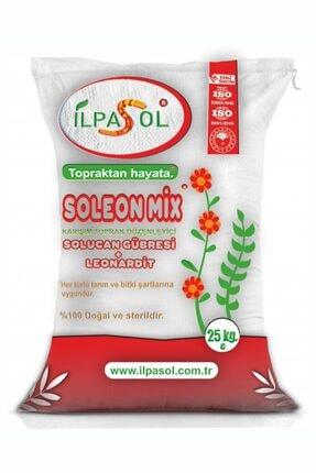 ilpasol Organik Soleonmix Solucan Gübresi Leonardit Karışmlı Granül Gübre 25 kg