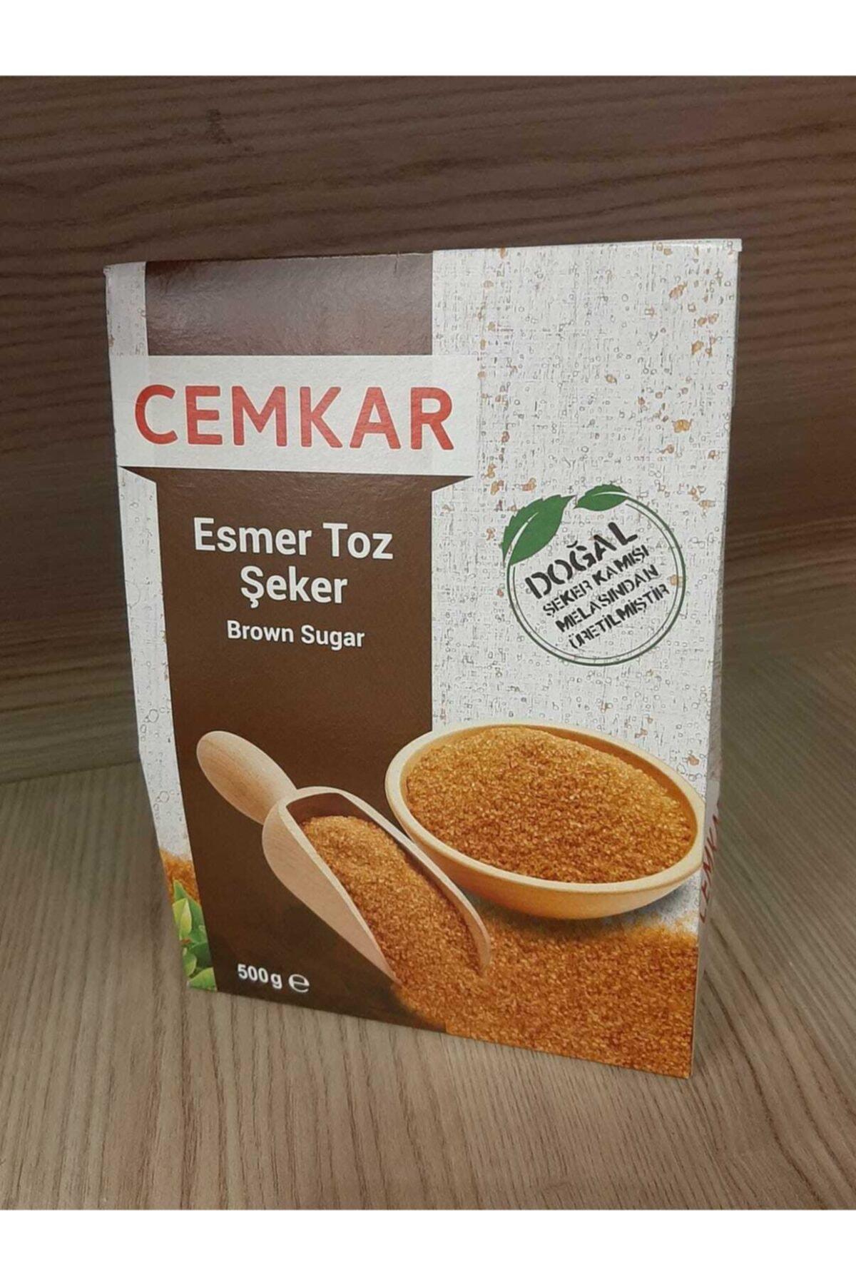 CEMKAR Esmer Toz Şeker x 500 gr 1