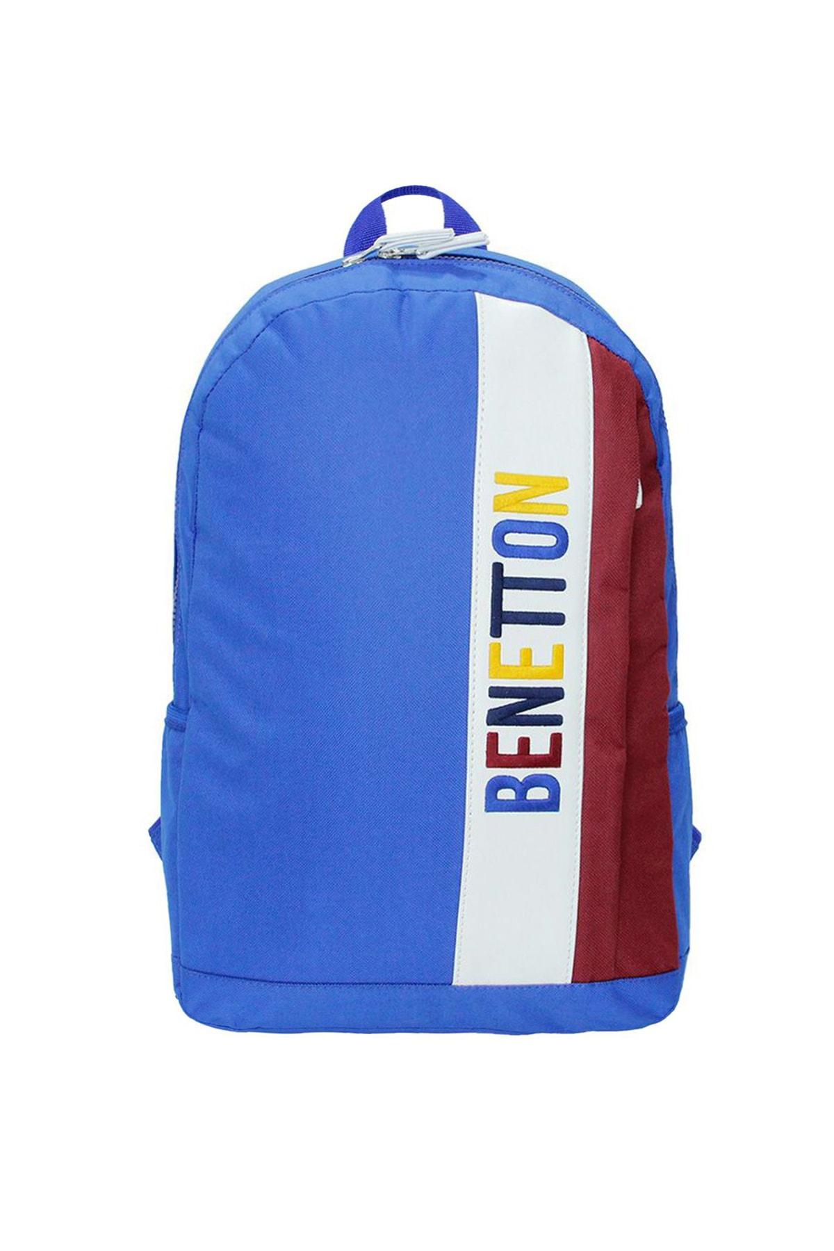 Benetton United Colors Of Sırt Okul Çantası 70063 Mavi 1