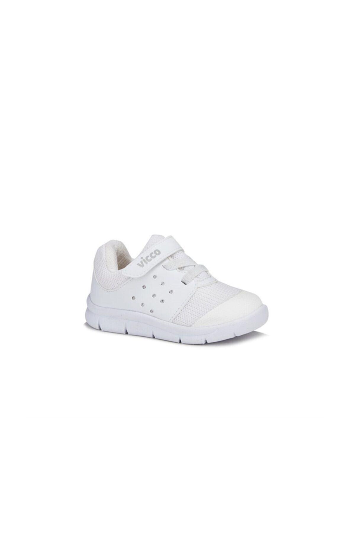 Vicco Çocuk Beyaz Mario Spor Ayakkabı 1