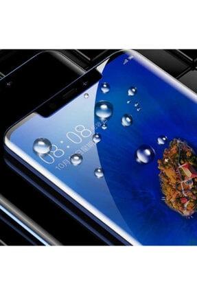 Huawei Mate 20 Lite Kenarları Kırılmaya Dayanıklı Cam Ekran Koruyucu