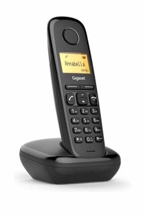 GIGASET Siyah A170 Dect Kablosuz Telsiz Telefon