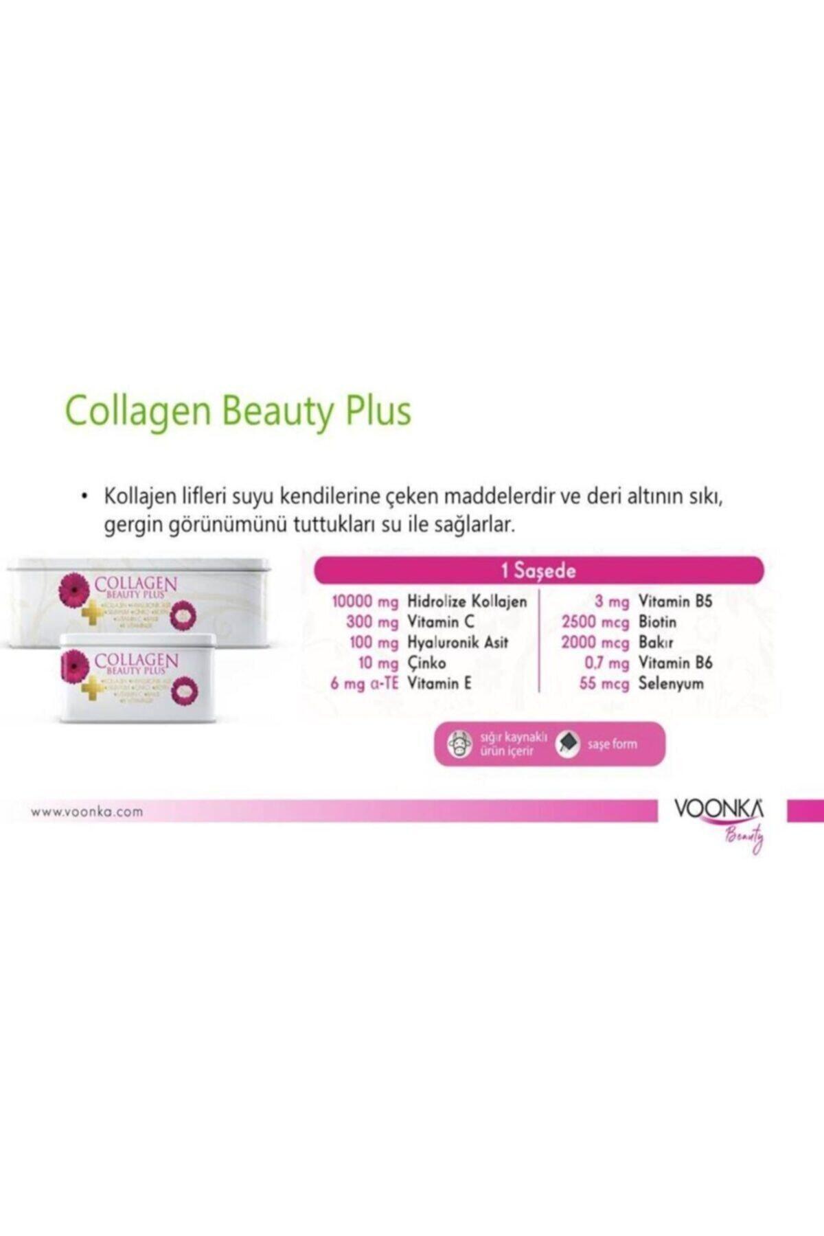 Voonka Collagen Beauty Plus Çilek Karpuz Aromalı 30 Saşe 07/2022 Yeni Kutu 2