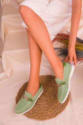 SOHO Yeşil Kadın Casual Ayakkabı 16108