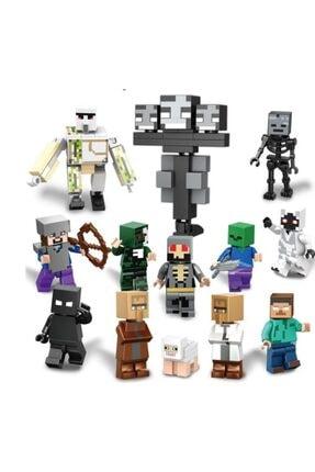 Legoedly Minecraft New Amozon 13 Lü Mini Figür Set