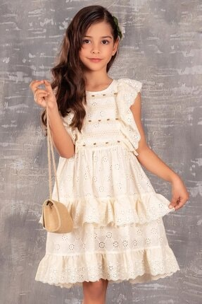 Buse&Eylül Bebe Kız Çocuk Elbisesi