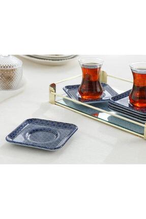 English Home Comb Cam Çay Tabağı 12 cm 6'lı