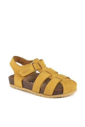 Vicco Arena Unisex Çocuk Sarı Sandalet