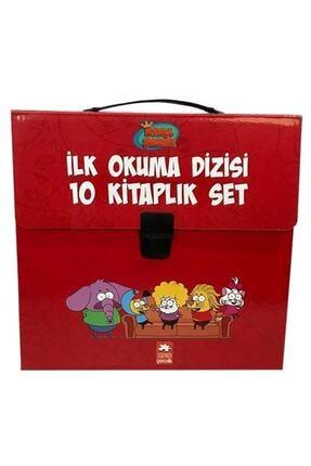 Eksik Parça Yayınları Kral Şakir Ilk Okuma Kitabı 10'lu Set Çantalı