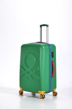 Benetton Abs Valiz Green Büyük Boy Bnta202x