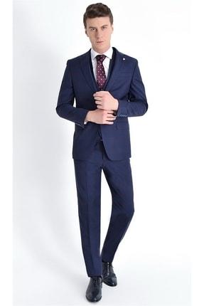 Efor Tk 766 Slim Fit Lacivert Klasik Takım Elbise