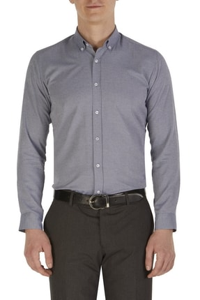 Efor P 1015 Slim Fit Gri Klasik Pantolon