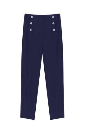 İpekyol Düğme Aksesuarlı Pantolon