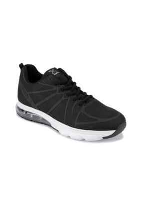 Kinetix Erkek Siyah Beyaz Koşu Antrenman Ayakkabısı FEDOR 9PR