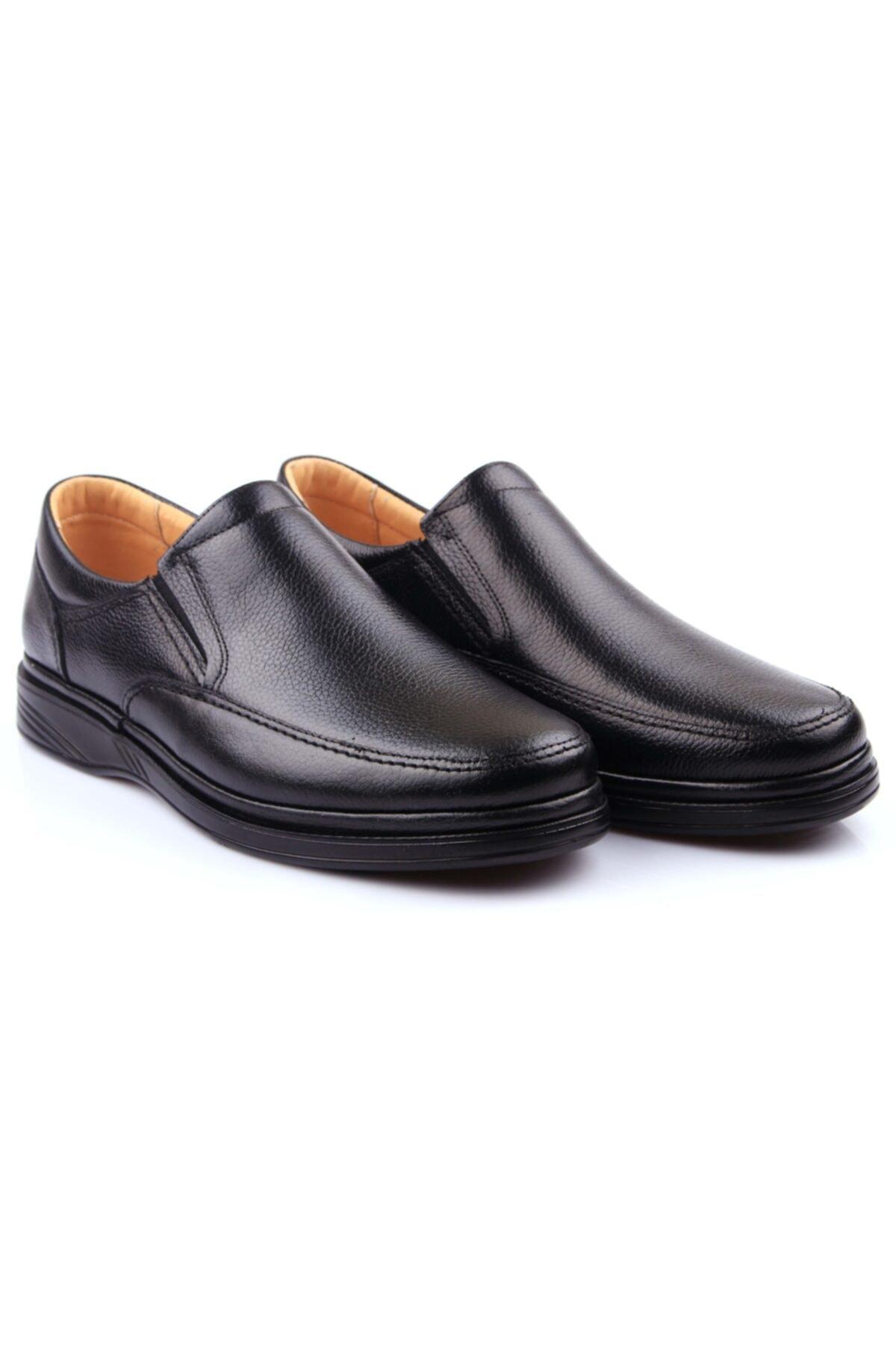 DETECTOR Iç Dış Hakiki Deri Ultra Ortopedik Büyük Numara Günlük Erkek Ayakkabı 700-10 2