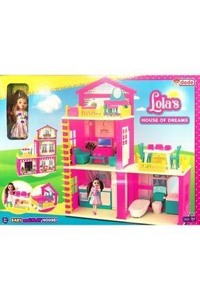 Fillikutum Dede Oyuncak Lola'nın Düşler Evi 3 Katlı Aksesuarlı