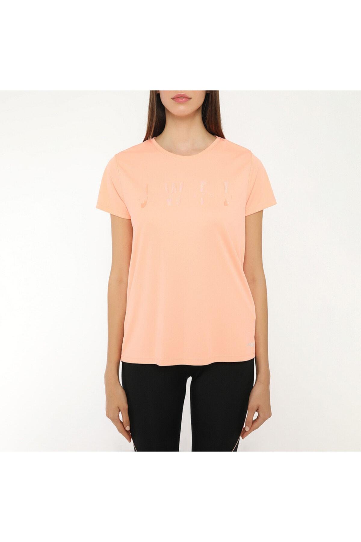 lumberjack Kadın Somon T-shirt W-18165 2