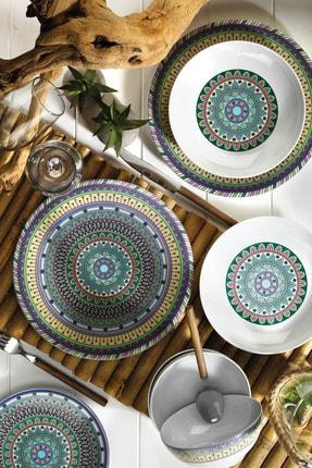 Kütahya Porselen 24 Parça Yemek Seti 9996 Desen