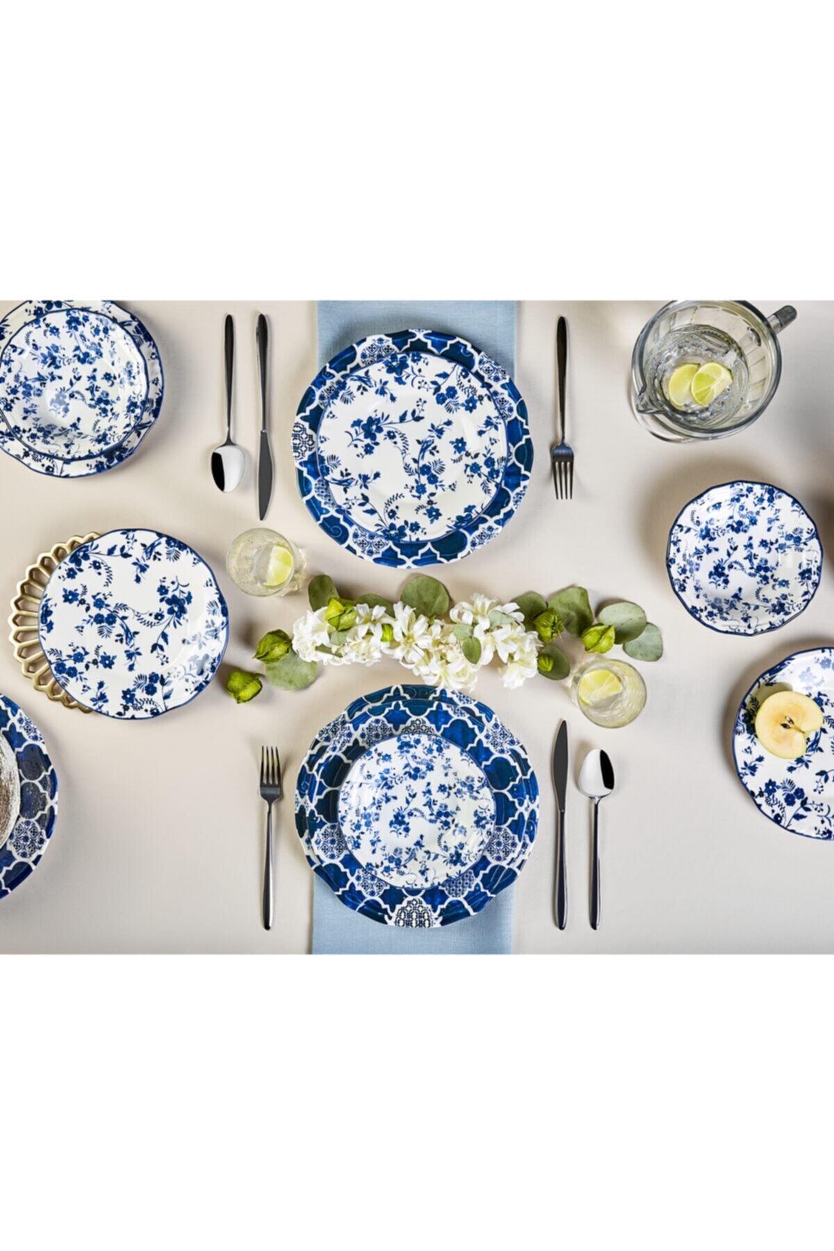 Karaca Deep Blue 24 Parça Yemek Takımı 2