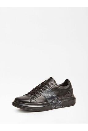 Guess Salerno Siyah Erkek Sneaker
