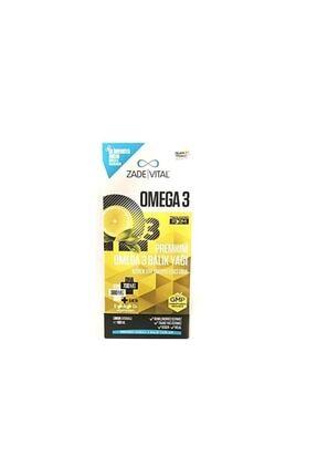 Zade Vital Premium Limon Aromalı Omega 3 Balık Yağı Şurup 100 ml