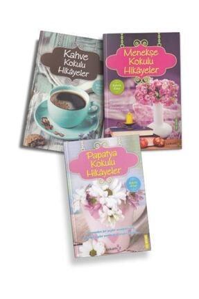 Yakamoz Yayınları Kokulu Hikayeler Seti 3 Kitap (Menekşe-Papatya-Kahve)