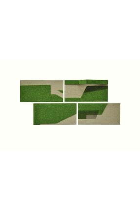 Elif Köse Kuş Bakışı, 32x65, Tuval Üzerine Karışık Teknik