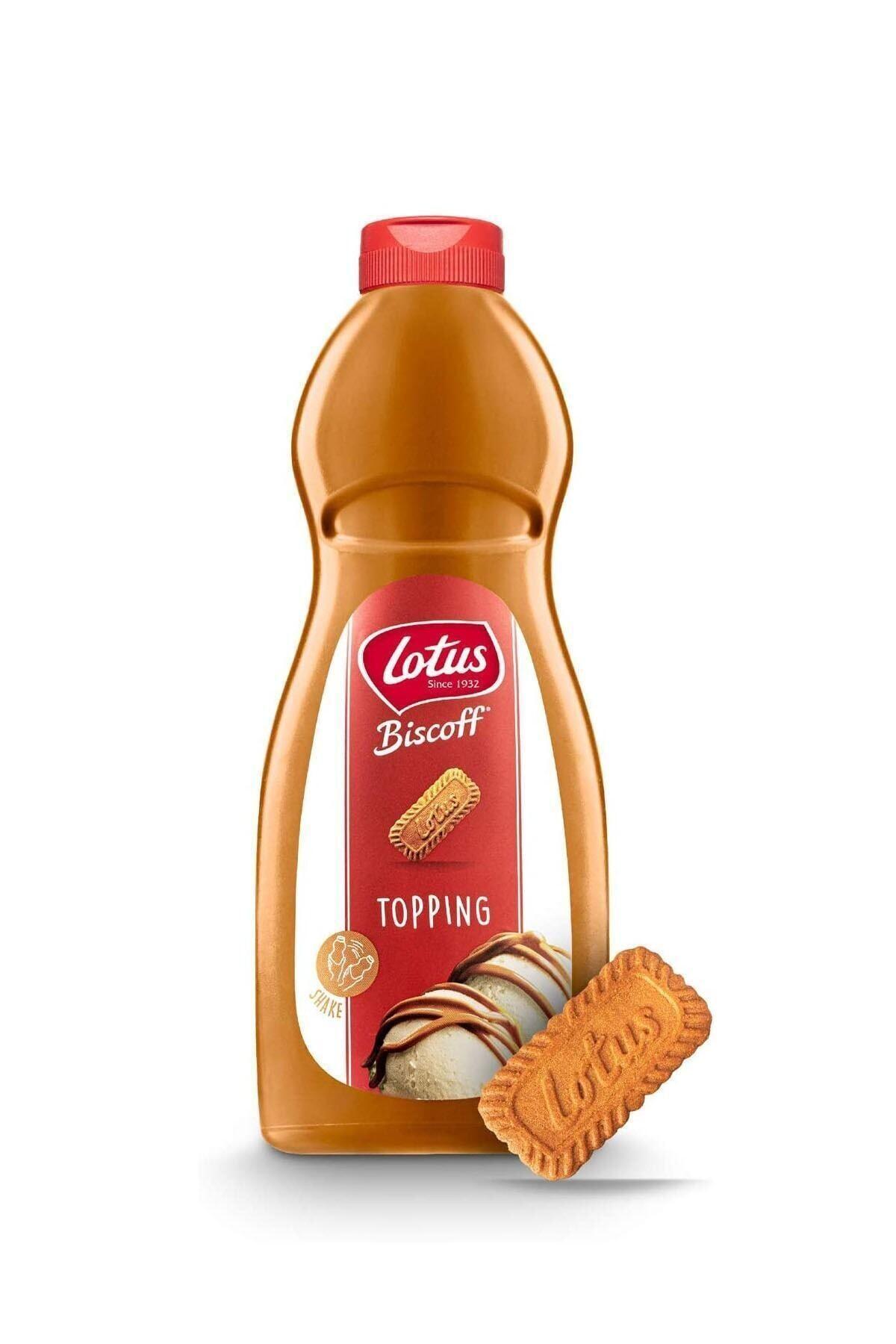 Lotus Biscoff Topping Sauce 1 Kg 1