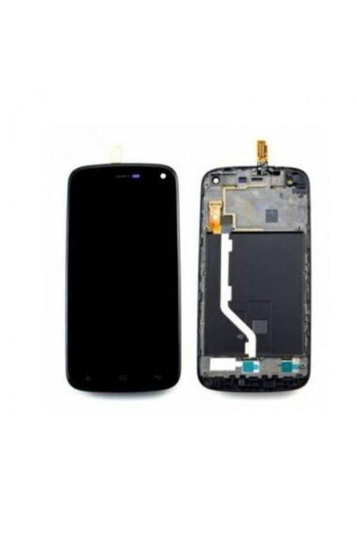 General Mobile Discovery E3 Lcd Ekran Panelli Siyah/beyaz 1