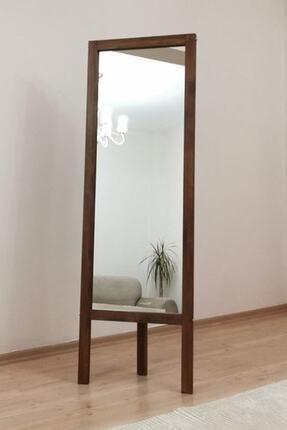 Vivense Kahverengi Ahşap  Ayaklı Boy Aynası