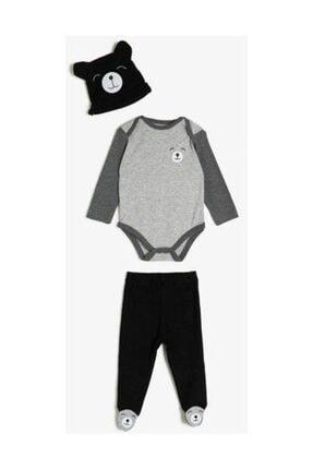 Koton Erkek Bebek Siyah Bebek Takımları 0KNB14291OK