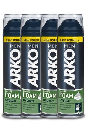 Arko Men Hydrate Tıraş Köpüğü  200 ml 4 Adet