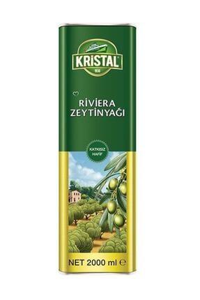 Kristal Riviera Zeytinyağ Teneke 2000 ml