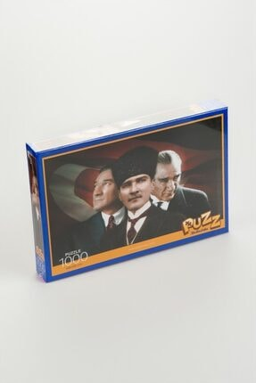 KESKİN COLOR Puzz 1000 Parça Puzzle Atatürk 3 Portre