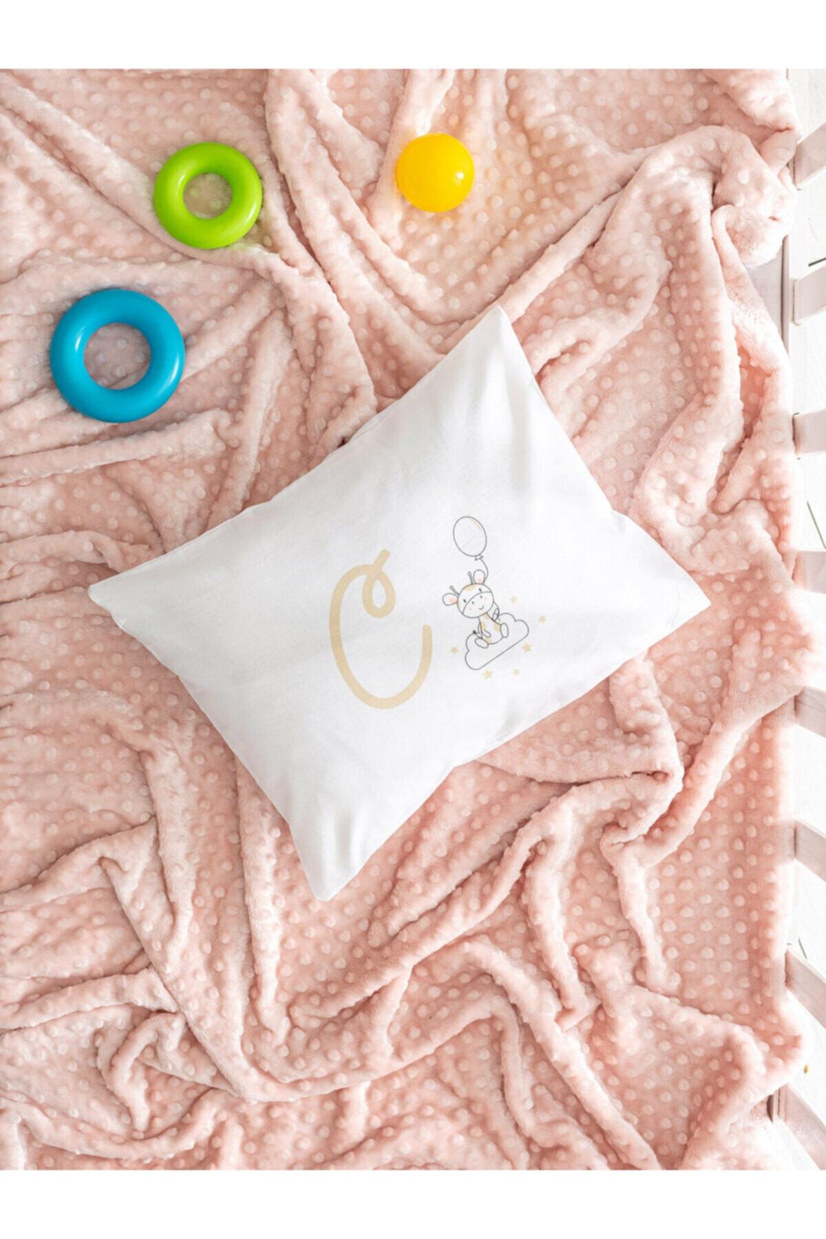 LCW HOME Bebek Bej Yastık Kılıfı 1