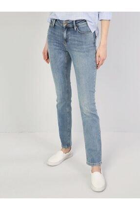 Colin's Mavi Slim Fit Orta Bel 73 Carla Denim Kadın Jean Pantolon .CL1045169_Q1.V1_DN40444